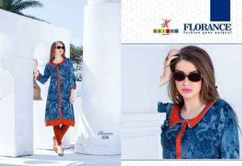 KERSOM BY BLOSSOM VOL 1 CASUAL WEAR RAYON PRINTED KURTI COLLECTION WHOLESALE BEST RAET BY GOSIYA EXPORTS SURAT (16)