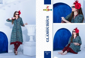 KERSOM BY BLOSSOM VOL 1 CASUAL WEAR RAYON PRINTED KURTI COLLECTION WHOLESALE BEST RAET BY GOSIYA EXPORTS SURAT (18)