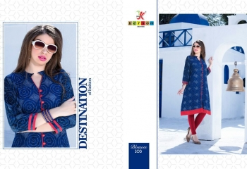 KERSOM BY BLOSSOM VOL 1 CASUAL WEAR RAYON PRINTED KURTI COLLECTION WHOLESALE BEST RAET BY GOSIYA EXPORTS SURAT (20)