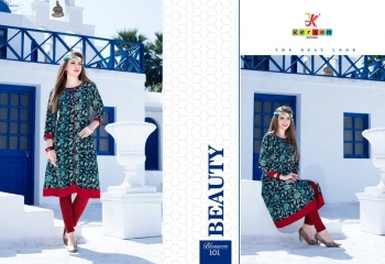 KERSOM BY BLOSSOM VOL 1 CASUAL WEAR RAYON PRINTED KURTI COLLECTION WHOLESALE BEST RAET BY GOSIYA EXPORTS SURAT (21)