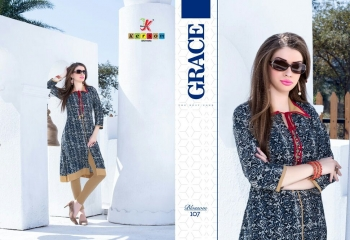 KERSOM BY BLOSSOM VOL 1 CASUAL WEAR RAYON PRINTED KURTI COLLECTION WHOLESALE BEST RAET BY GOSIYA EXPORTS SURAT (22)