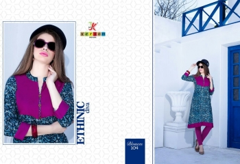 KERSOM BY BLOSSOM VOL 1 CASUAL WEAR RAYON PRINTED KURTI COLLECTION WHOLESALE BEST RAET BY GOSIYA EXPORTS SURAT (23)