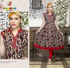 KERSOM KISS MISS PURE HEAVY RAYON KURTI WHOLESALE KURTI DEALER BY GOSIYA EXPORTS (1)