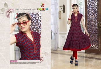 KERSOM KISS MISS PURE HEAVY RAYON KURTI WHOLESALE KURTI DEALER BY GOSIYA EXPORTS (9)