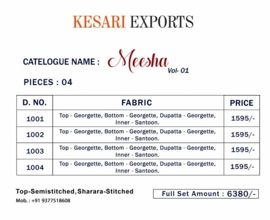 KESARI EXPORTS MEESHA VOL 1  (6)