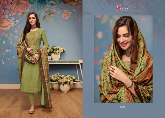 KESARI TRENDZ I BALL VOL 3 PASHMINA FABRIC WITH PRINT WORK SALWAR SUIT WHOLESALE DEALER BEST RATE BY GOSIYA EXPORTS SURAT (2)