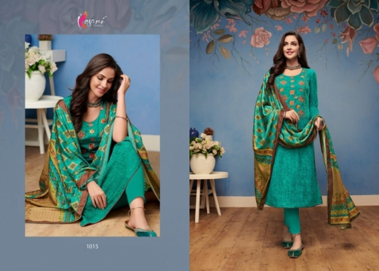 KESARI TRENDZ I BALL VOL 3 PASHMINA FABRIC WITH PRINT WORK SALWAR SUIT WHOLESALE DEALER BEST RATE BY GOSIYA EXPORTS SURAT (3)