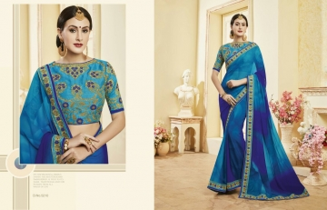 Kessi fabrics kalindi sarees collection BY GOSIYA EXPORTS SURAT (13)