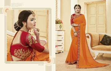 Kessi fabrics kalindi sarees collection BY GOSIYA EXPORTS SURAT (14)