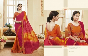 Kessi fabrics kalindi sarees collection BY GOSIYA EXPORTS SURAT (2)