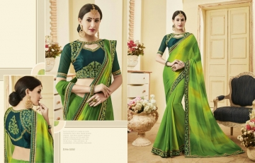Kessi fabrics kalindi sarees collection BY GOSIYA EXPORTS SURAT (4)