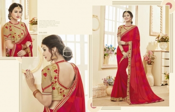 Kessi fabrics kalindi sarees collection BY GOSIYA EXPORTS SURAT (5)