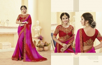 Kessi fabrics kalindi sarees collection BY GOSIYA EXPORTS SURAT (6)
