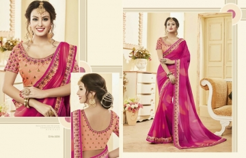 Kessi fabrics kalindi sarees collection BY GOSIYA EXPORTS SURAT (8)