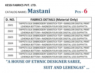 Kessi fabrics mastani lehanga Collection wholesale rate supplier WHOLESALE BTES ARTE BY GOSIYA EXPORTS (8)