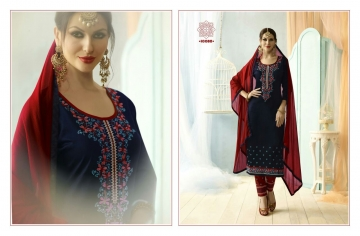 KESSI FABRICS SUNDRESS VOL 4 CATALOGUE COTTON EMBROIDERED SALWAR KAMEEZ WHOLESALE BEST RATE SUPPLIER BY GOSIYA EXP (4104)
