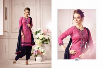 KESSI FABRICS SUNHERI VOL 3 CATALOG PURE CHANDERI PARTY WEAR SALWAR KAMEEZ (1)