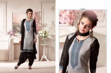 KESSI FABRICS SUNHERI VOL 3 CATALOG PURE CHANDERI PARTY WEAR SALWAR KAMEEZ (4)