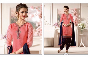 KESSI FABRICS SUNHERI VOL 3 CATALOG PURE CHANDERI PARTY WEAR SALWAR KAMEEZ (6)