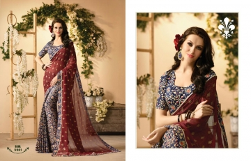 KESSI FABRICS ZANKAR 2 CATALOG GEORGETTE PRINTS PARTY WEAR SAREES COLLECTION WHOLESALE DEALER BEST RATE BY GOSIYA EXPORTS SURAT (1)
