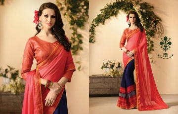 KESSI FABRICS ZANKAR 2 CATALOG GEORGETTE PRINTS PARTY WEAR SAREES COLLECTION WHOLESALE DEALER BEST RATE BY GOSIYA EXPORTS SURAT (10)