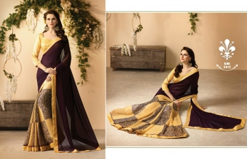 KESSI FABRICS ZANKAR 2 CATALOG GEORGETTE PRINTS PARTY WEAR SAREES COLLECTION WHOLESALE DEALER BEST RATE BY GOSIYA EXPORTS SURAT (11)