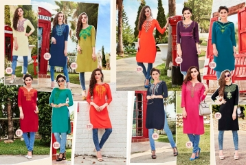 KESSI LILLY VOL 5 RAYON KURTI WHOLESALE RATE AT SURAT GOSIYA EXPORTS WHOLESALE DEALER AND SUPPLAYER SURAT GUJARAT (1)