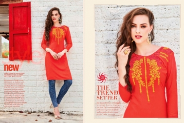 KESSI LILLY VOL 5 RAYON KURTI WHOLESALE RATE AT SURAT GOSIYA EXPORTS WHOLESALE DEALER AND SUPPLAYER SURAT GUJARAT (10)