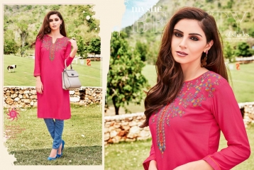 KESSI LILLY VOL 5 RAYON KURTI WHOLESALE RATE AT SURAT GOSIYA EXPORTS WHOLESALE DEALER AND SUPPLAYER SURAT GUJARAT (12)