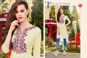 KESSI LILLY VOL 5 RAYON KURTI WHOLESALE RATE AT SURAT GOSIYA EXPORTS WHOLESALE DEALER AND SUPPLAYER SURAT GUJARAT (2)