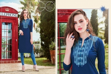 KESSI LILLY VOL 5 RAYON KURTI WHOLESALE RATE AT SURAT GOSIYA EXPORTS WHOLESALE DEALER AND SUPPLAYER SURAT GUJARAT (3)