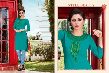 KESSI LILLY VOL 5 RAYON KURTI WHOLESALE RATE AT SURAT GOSIYA EXPORTS WHOLESALE DEALER AND SUPPLAYER SURAT GUJARAT (9)