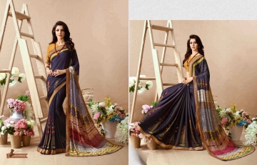 KESSI PALAK GEORGETTE DESIGNER SAREES CATALOG WHOLESALE RATE BEST BY GOSIYA EXPORTS SURAT (4)