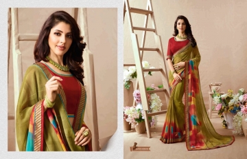 KESSI PALAK GEORGETTE DESIGNER SAREES CATALOG WHOLESALE RATE BEST BY GOSIYA EXPORTS SURAT (6)