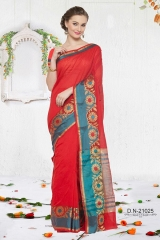 KESSI SHIYAMA VOL 2 COTTON EMBROIDERED SAREES WHOLESALER BEST RATE BY GOSIYA EXPORTS SURAT (10)