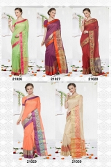 KESSI SHIYAMA VOL 2 COTTON EMBROIDERED SAREES WHOLESALER BEST RATE BY GOSIYA EXPORTS SURAT (5)