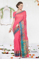 KESSI SHIYAMA VOL 2 COTTON EMBROIDERED SAREES WHOLESALER BEST RATE BY GOSIYA EXPORTS SURAT (6)