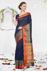 KESSI SHIYAMA VOL 2 COTTON EMBROIDERED SAREES WHOLESALER BEST RATE BY GOSIYA EXPORTS SURAT (8)
