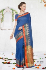 KESSI SHIYAMA VOL 2 COTTON EMBROIDERED SAREES WHOLESALER BEST RATE BY GOSIYA EXPORTS SURAT (9)