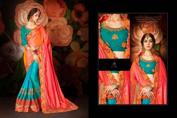 KIANAA ZARI FANCY EXCLUSIVE SAREE CATALOG IN WHOLESALE BEST RATE BY GOSIYA EXPORTS SURAT (14)