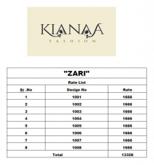 KIANAA ZARI FANCY EXCLUSIVE SAREE CATALOG IN WHOLESALE BEST RATE BY GOSIYA EXPORTS SURAT (23)