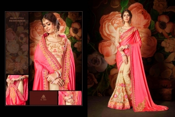 KIANAA ZARI FANCY EXCLUSIVE SAREE CATALOG IN WHOLESALE BEST RATE BY GOSIYA EXPORTS SURAT (25)