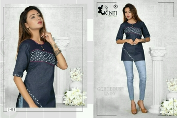 KNITI QUANTUM SHORT TOPS DENIM PATTERNS WHOLESALE SUPPLIER BEST RATE BY GOSIYA EXPORTS SURAT (3)