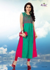 KOIKI BLOSSOM FANCY SILK KURTIS CATALOG IN WHOLESALE BEST RATE BY GOSIYA EXPORTS SUPPLIER (6)