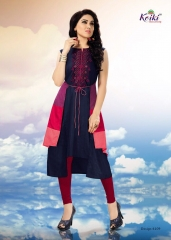 KOIKI BLOSSOM FANCY SILK KURTIS CATALOG IN WHOLESALE BEST RATE BY GOSIYA EXPORTS SUPPLIER (7)