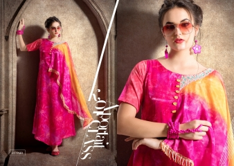 KRISHRIYA SILKORIA MASLIN SILK CASUAL WEAR KURTI COLLECTION WHOLESALE BEST RATE BY GOSIYA EXPORTS SURAT (1)