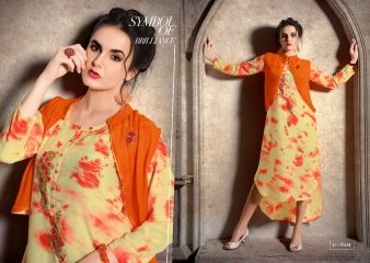 KRISHRIYA SILKORIA MASLIN SILK CASUAL WEAR KURTI COLLECTION WHOLESALE BEST RATE BY GOSIYA EXPORTS SURAT (10)