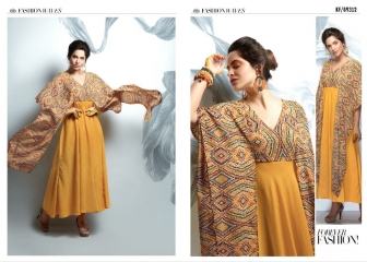 KRISHRIYAA FASHION WAVES CATALOGUE STYLIST MAXI DRESSES COLLECTION WHOLESALE DEALER BEST RATE BY GOSIYA EXPORTS SURAT (2)