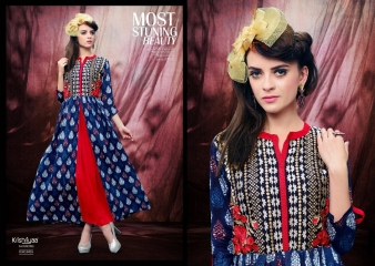 KRISHRIYAA ICONIC PURE VISCOSE MODAL KURTI WHOLESALA BEST RATE BY GOSIYA EXPORTS SURAT INDIA (5)
