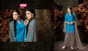 KSM BY SIYA COTTON GLACE PATIYALA SALWAR KAMEEZ WHOLESALE SURAT BEST RATE (3)